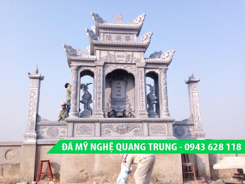 Lăng thờ đẹp - Lăng mộ đẹp của Đá mỹ nghệ Quang Trung Ninh Vân, Hoa Lư, Ninh Bình