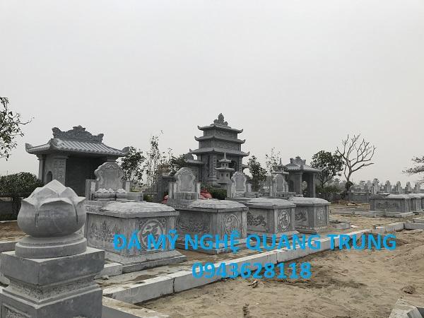 Mộ đá đẹp Quang Trung
