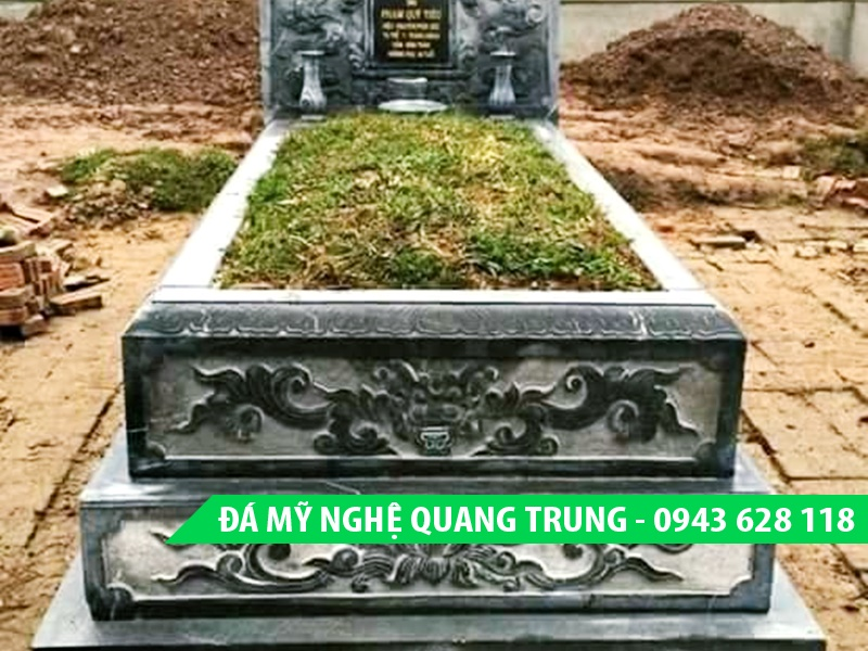 Mo banh da DEP Mau mo da 6 Lăng mộ đá, Mộ đá Ninh Bình