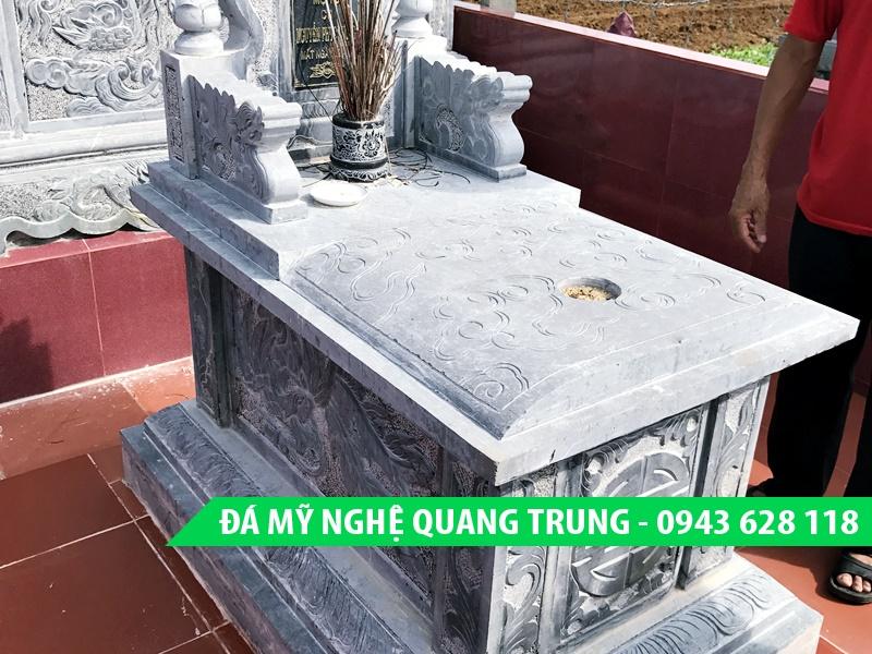 Mộ bành đá, Mẫu Mộ bành đá đẹp Quang Trung