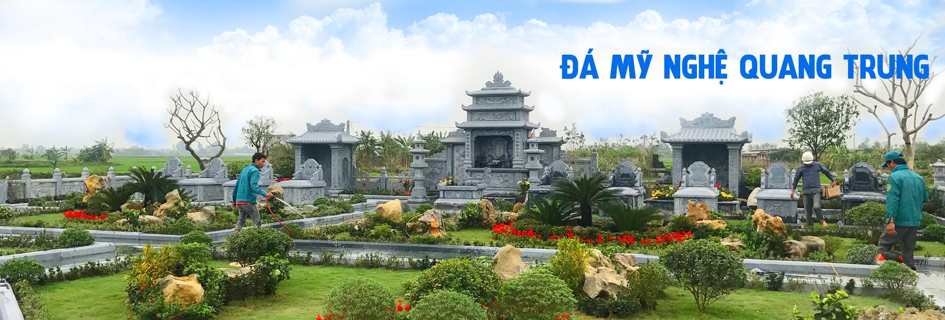 Lăng mộ đá Hải Phòng - Đá mỹ nghệ Quang Trung