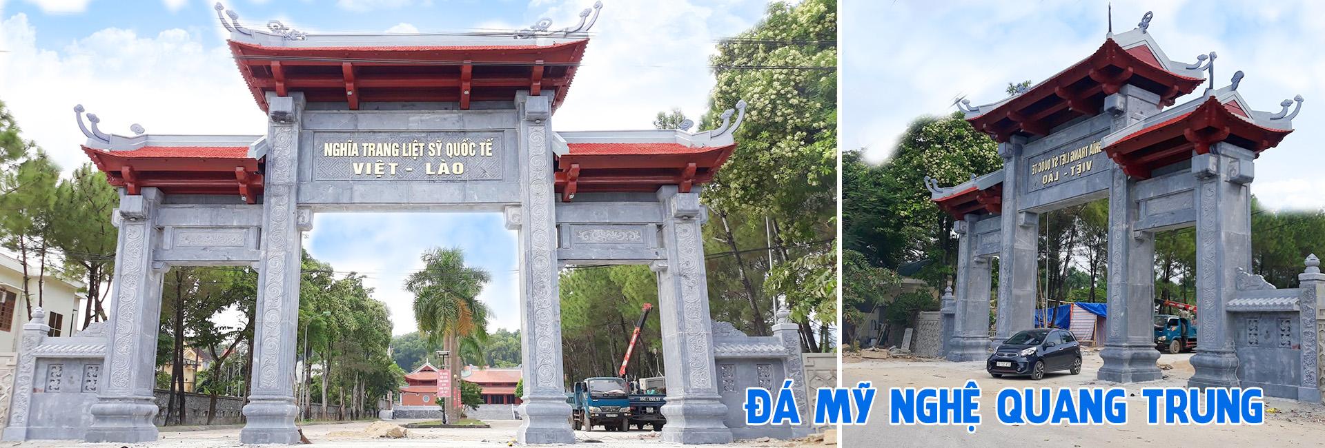 Đá mỹ nghệ Quang Trung - Cột đá