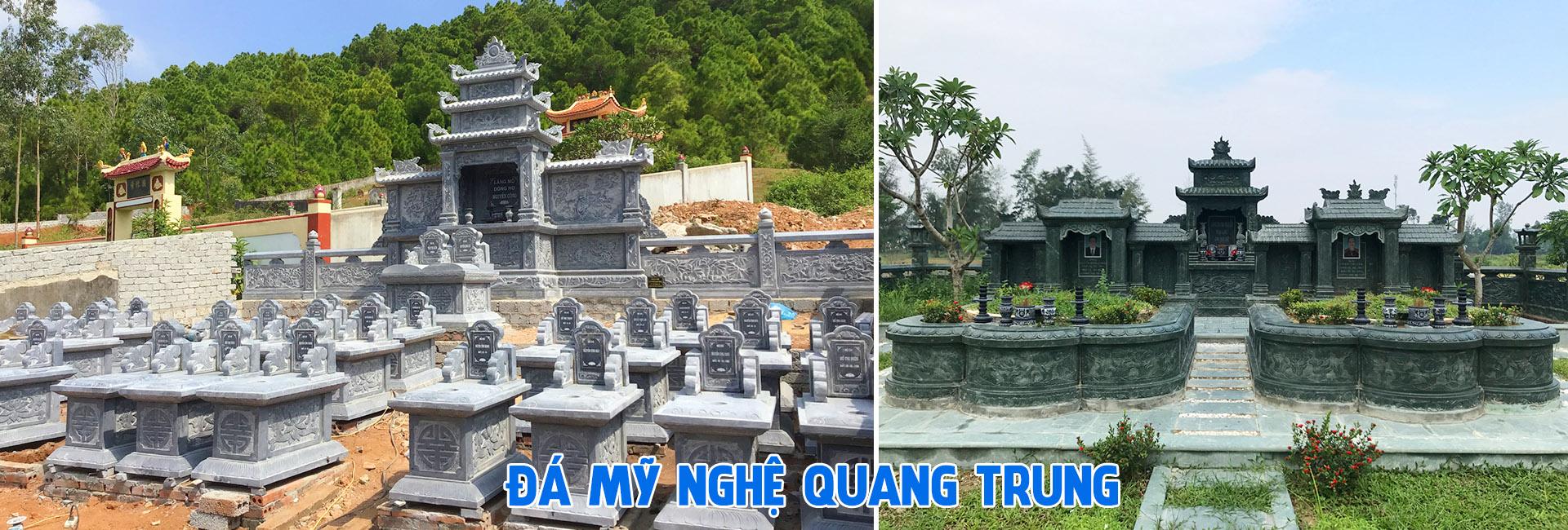 Đá mỹ nghệ Quang Trung - Mộ đá, Mẫu mộ đá, Mộ đá đẹp