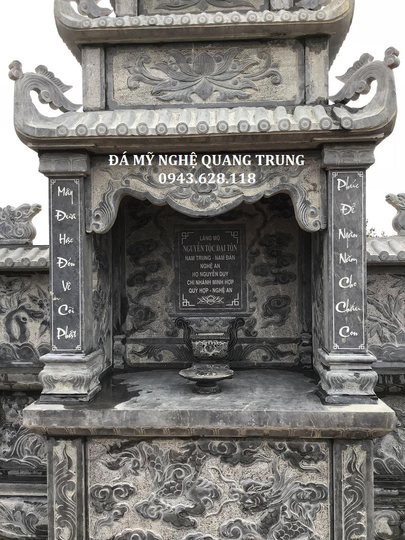 CHI TIẾT BÀI VỊ LĂNG THỜ CHÍNH Lăng mộ đá, Mộ đá Ninh Bình