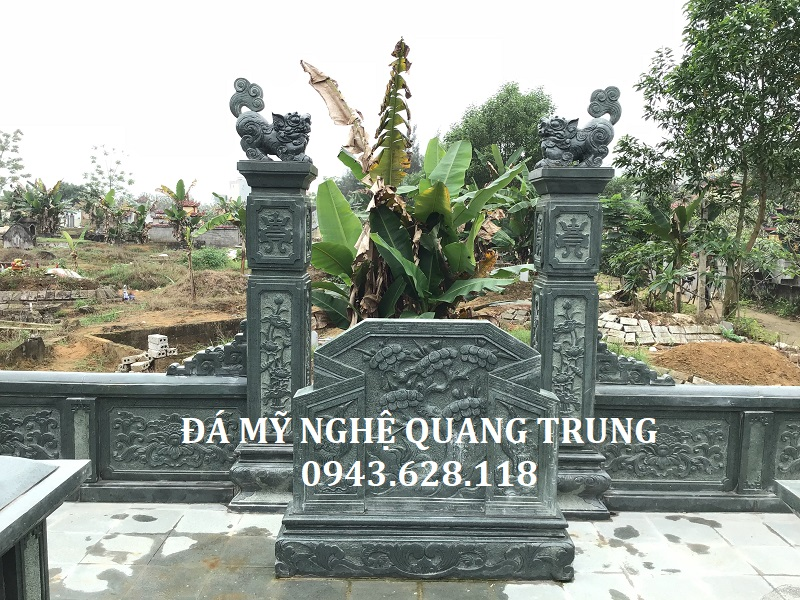 Cuốn thư đá Xanh Rêu Quang Trung