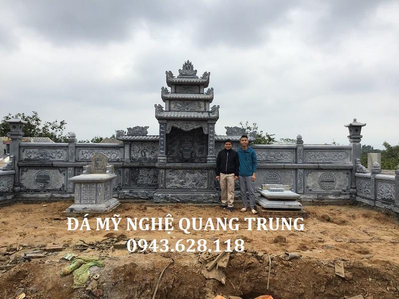 KHU LĂNG NHÀ BÁC THUYÊN Lăng mộ đá, Mộ đá Ninh Bình