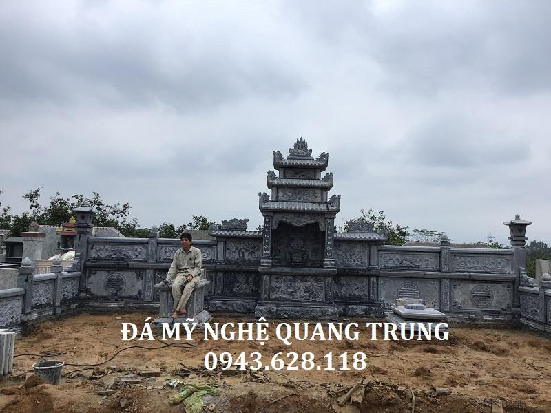 LĂNG THỜ CHÍNH NHÀ BÁC THUYÊN Lăng mộ đá, Mộ đá Ninh Bình