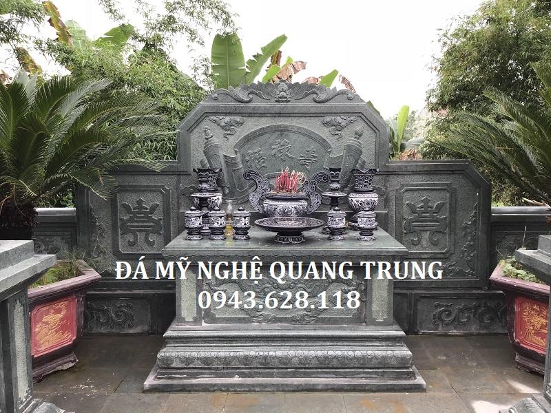 Lăng thờ đá đẹp Đá mỹ nghệ Quang Trung