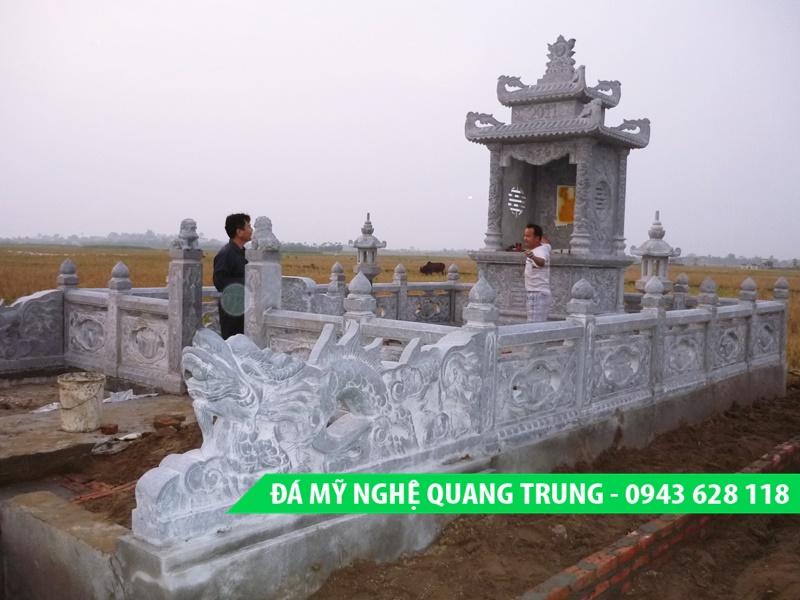 Lan can da dep Quang Trung 1 Lăng mộ đá, Mộ đá Ninh Bình