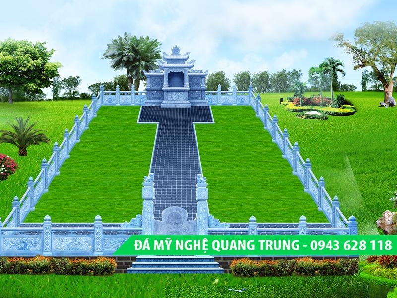 Lan can da dep Quang Trung 10 2 Lăng mộ đá, Mộ đá Ninh Bình