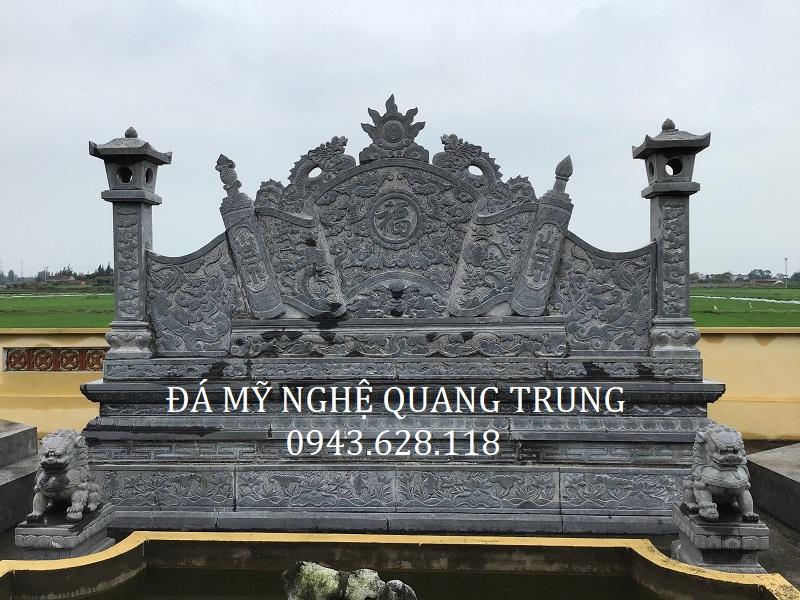 MẪU CUỐN THƯ ĐÁ 05 Lăng mộ đá, Mộ đá Ninh Bình