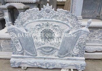 Cuốn thư đá Lăng mộ đẹp