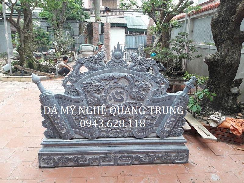 MẪU CUỐN THƯ ĐÁ 08 Lăng mộ đá, Mộ đá Ninh Bình