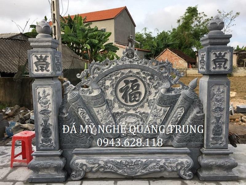 MẪU CUỐN THƯ ĐÁ 09 Lăng mộ đá, Mộ đá Ninh Bình