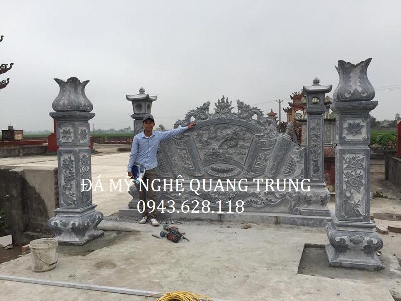 MẪU CUỐN THƯ ĐÁ 10 Lăng mộ đá, Mộ đá Ninh Bình
