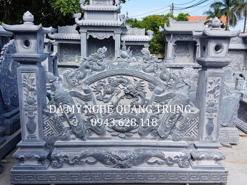 MẪU CUỐN THƯ ĐÁ 13 Lăng mộ đá, Mộ đá Ninh Bình