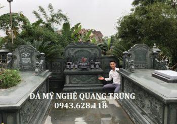 Nghệ nhân Quang Trung, tác giả của những Mẫu Lăng mộ đá, Mộ đá đặc sắc nhất hiện nay