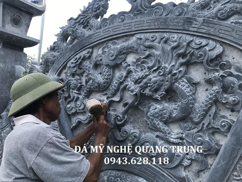 CHI TIẾT ĐIÊU KHẮC CUỐN THƯ 367 Lăng mộ đá, Mộ đá Ninh Bình