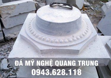Mẫu Chân cột đá đẹp Quang Trung 2