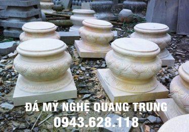 Mẫu Chân cột đá đẹp Quang Trung 7