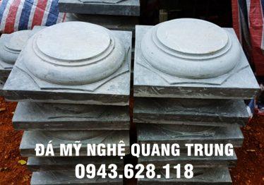 Mẫu Chân cột đá đẹp Quang Trung 8
