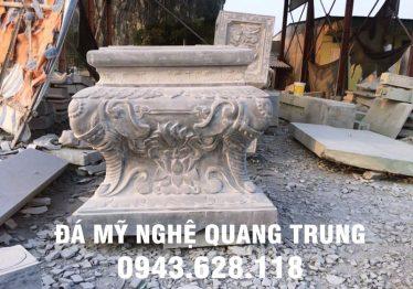 Mẫu Chân cột đá đẹp Quang Trung 11