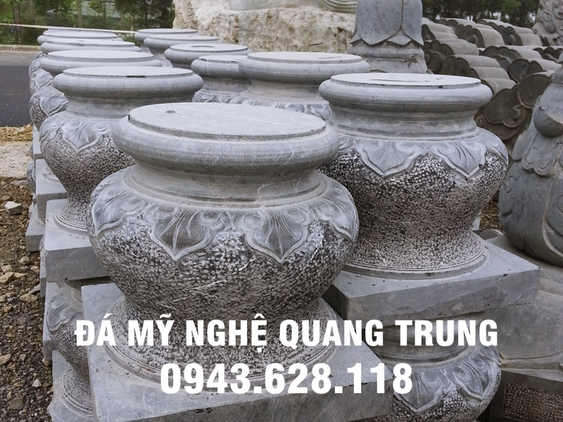Mẫu Chân cột đá đẹp Quang Trung-12