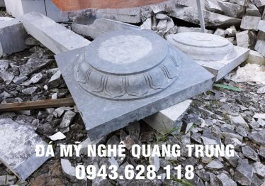 Mẫu Chân cột đá đẹp Quang Trung 13