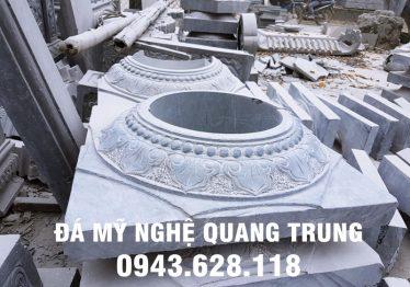 Mẫu Chân cột đá đẹp Quang Trung 17