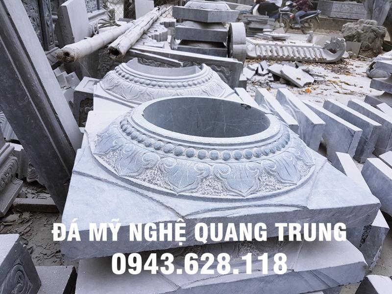 Mẫu Chân cột đá đẹp Quang Trung-17