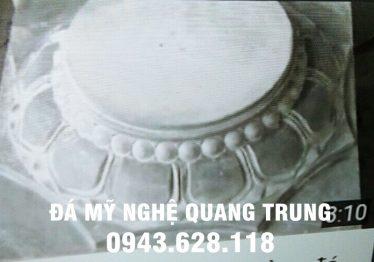 Mẫu Chân cột đá đẹp Quang Trung 18