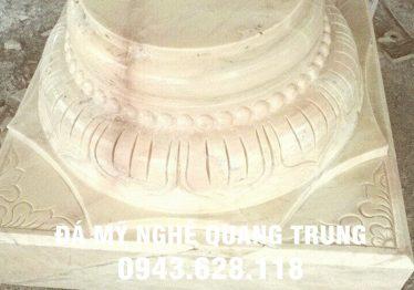 Mẫu Chân cột đá đẹp Quang Trung 19