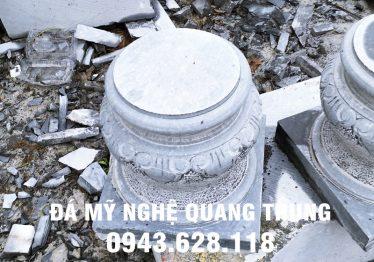 Mẫu Chân cột đá đẹp Quang Trung 20