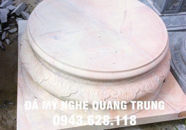 Mẫu Chân cột đá đẹp Quang Trung 21