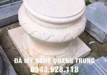 Mẫu Chân cột đá đẹp Quang Trung 24