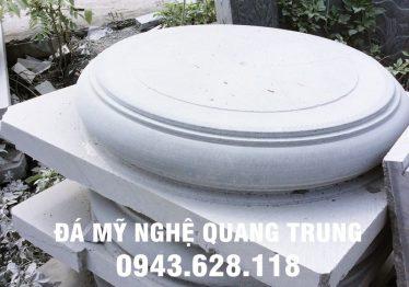 Mẫu Chân cột đá đẹp Quang Trung 25