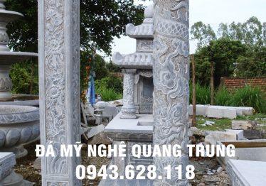 Mẫu Chân cột đá đẹp Quang Trung 32