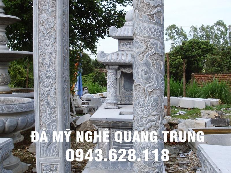 Mẫu Chân cột đá đẹp Quang Trung-32