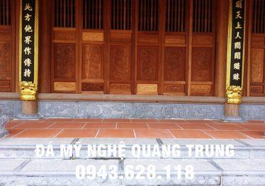 Mẫu Chân cột đá đẹp Quang Trung 34