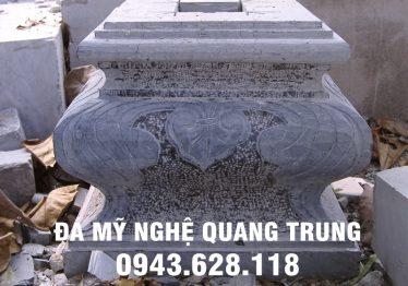 Mẫu Chân cột đá đẹp Quang Trung 36