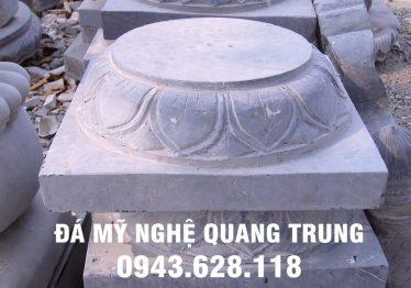 Mẫu Chân cột đá đẹp Quang Trung 37