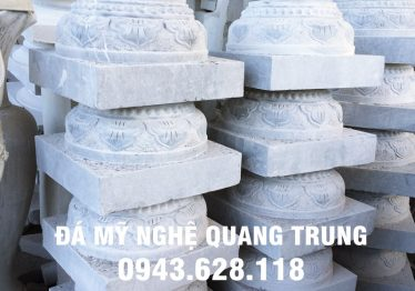 Mẫu Chân cột đá đẹp Quang Trung 39