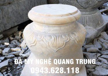 Mẫu Chân cột đá đẹp Quang Trung 40