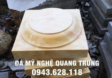Mẫu Chân cột đá đẹp Quang Trung 43