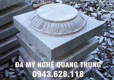 Mẫu Chân cột đá đẹp Quang Trung 44