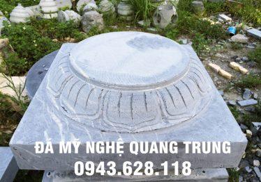 Mẫu Chân cột đá đẹp Quang Trung 48
