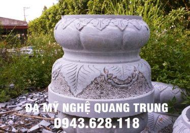 Mẫu Chân cột đá đẹp Quang Trung 51