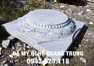 Mẫu Chân cột đá đẹp Quang Trung 52