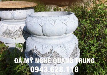 Mẫu Chân cột đá đẹp Quang Trung 53