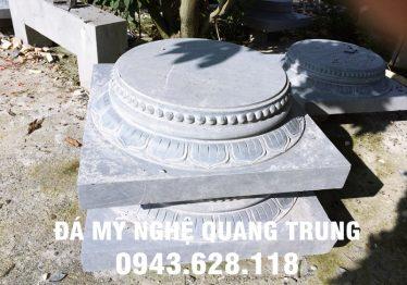 Mẫu Chân cột đá đẹp Quang Trung 54